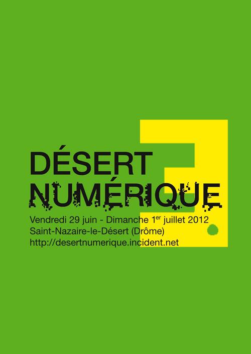 Désert Numérique #3 (flyer recto)