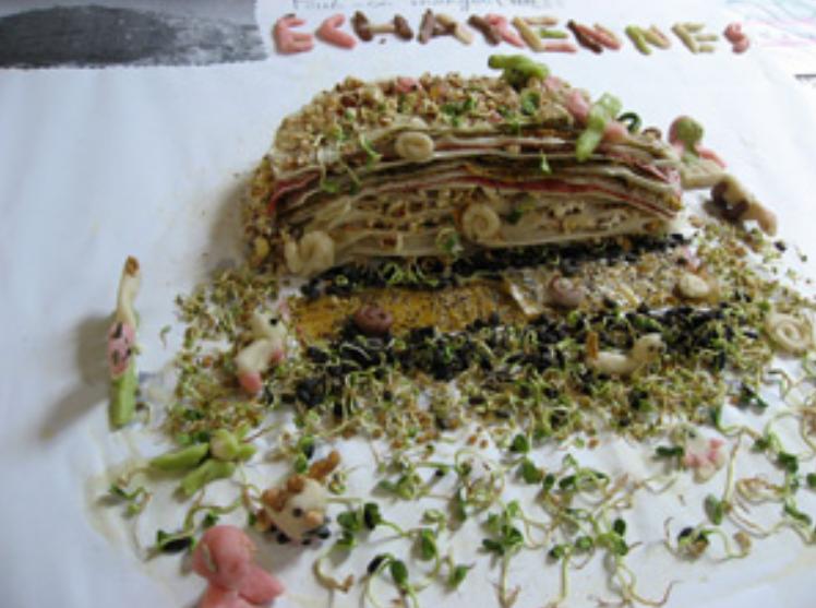 les secrets des Echarennes - macquette comestible